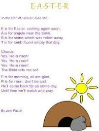 religious easter songs for children free christian easter story egg 8x10 printable poem for preschool