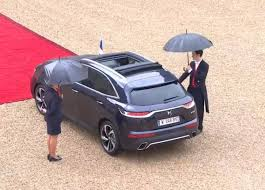 france u0027s president now rolls in a custom ds 7 crossback with a