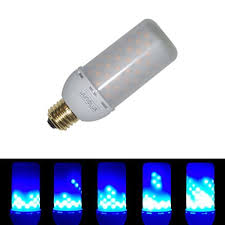 flashing night light bulbs junolux blue flame fire effect bulbs magic led fairy flickering fire