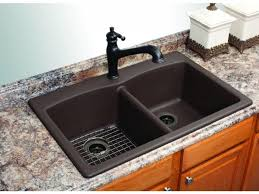 Modern Kitchen Sinks by Kitchen Sink Wonderful Mounted Sink In Long Counter And White