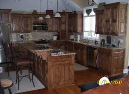 Stained Hickory Cabinets Cabinet Photos