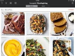 thanksgiving a bon appé manual an app that will save you from
