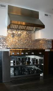 Kitchen Backsplash Stainless Steel Tiles Making A Statement With Your Kitchen Backsplash Sanders Design Build