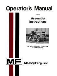 massey ferguson manuals