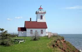 Wood Island Light Wood Islands Lighthouse Prince Edward Island Canada At