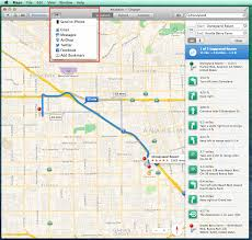 How To Use A Map 5 Steps On How To Use Apple Os X Maps With Your Iphone How To List