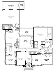 apartments 1 story 5 bedroom house plans bedroom one story floor
