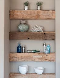 Wooden Shelves Pictures by Best 25 Reclaimed Wood Shelves Ideas On Pinterest Diy Wood