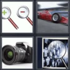 answers and cheats of the popular game 4 pics 1 word 4 letters
