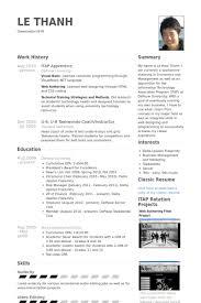itap apprentice resume samples visualcv resume samples database