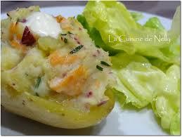 la cuisine de nelly pommes de terres farcies au saumon fumé la cuisine de nelly