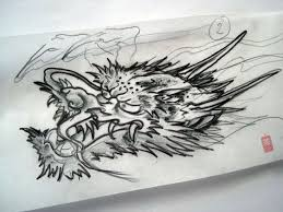 38 best japanese dragon tattoo head images on pinterest dragons