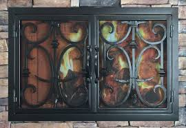 forged fireplace doors home design very nice top and forged