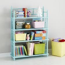 Land Of Nod Bookshelf Kids White Jenny Lind Spindle Bookcase The Land Of Nod