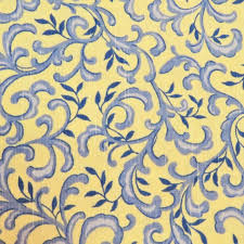 Home Decorator Fabric Yellow And Blue Paisley Fabric Home Decorator Fabric Cotton