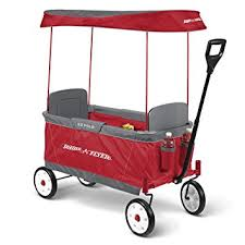 wagon baby radio flyer ultimate ez folding wagon for kids and