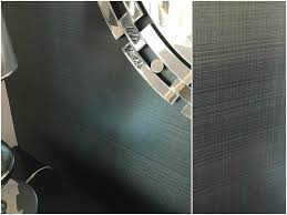 metallic linen wall treatment project by jeremy stanger gray