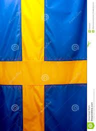 swedish flag stock images image 14942314