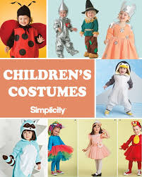 Halloween Costumes Sewing Patterns 112 Children U0027s Costumes Images Simplicity