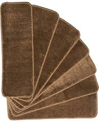 Stairs Rugs Amazon Com Softy Stair Tread Mats Skid Resistant Rubber Backing