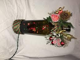 lighted christmas wine bottle decoration u2013 crafty dad