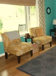 Livingroom Chair Furniture Patterned Armchair Slipper Chairs Navy Living Room