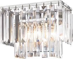 Elk Bathroom Lighting Elk 15210 1 Palacial Polished Chrome 10 Bathroom Light Fixture