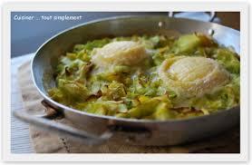 blogs de cuisine fondue de poireau au chèvre cuisiner tout simplement le
