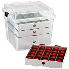 rubbermaid ornament storage box ornament storage for