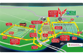 City Park New Orleans Map Hop On Hop Off Bus Tour New Orleans City Sightseeing
