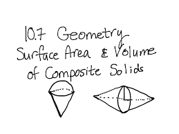 showme surface area of composite figure