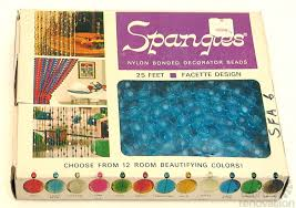 70s Beaded Door Curtains Beaded Curtains Strandoliers And Spangles Retro Renovation