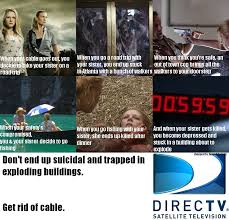 Cable Meme - image 579550 directv get rid of cable commercials know