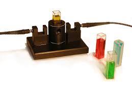 s i photonics uv vis fiber optic cuvette holder