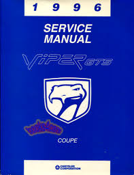 dodge viper manuals at books4cars com