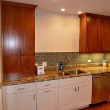 staining kitchen cabinets how much does it cost to stain cabinets angie s list