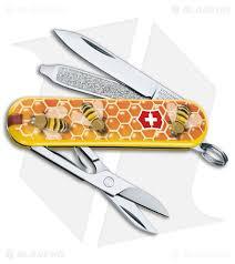 swiss kitchen knives victorinox classic sd swiss army knife honey bee l1702us2 blade hq
