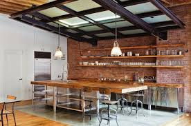 Industrial Kitchen Islands Industrial Kitchen Islands Kitchen Island Ideas Brick Industrial