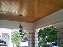 porch ceiling designs wood porch ceiling ideas stained beadboard