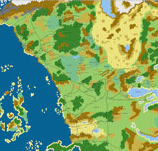 Forgotten Realms Map Scale Hex Map Of The Sword Coast D U0026d Imgur