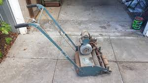 new to reel mowers outdoorking repair forum