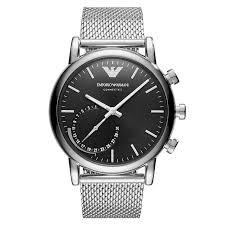 armani watches bracelet images Armani watches emporio armani designer watches ernest jones