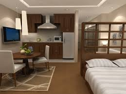 studio apartment design home deco plans