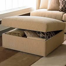 Leather Ottoman With Storage And Tray by Storage Ottoman Living Room Bassett Furniture