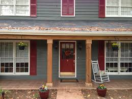 Front Porch Column Covers by Like The Door And The Columns Not Color And Base Of Columns