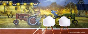 tractor murals for walls murals your way tractor murals