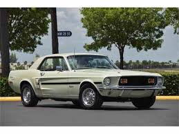 mustang gt cs 1968 ford mustang gt cs california special for sale on classiccars