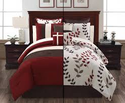 awesome victoria classics 8 piece comforter set pertaining to red