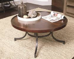 40 Inch Round Table Coffee Table Awesome 40 Round Coffee Table Design Industrial