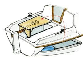 boat tables for cockpit creating cockpit tables sail magazine